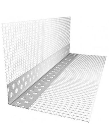 Narożnik aluminiowy z siatką 7x7 300 cm