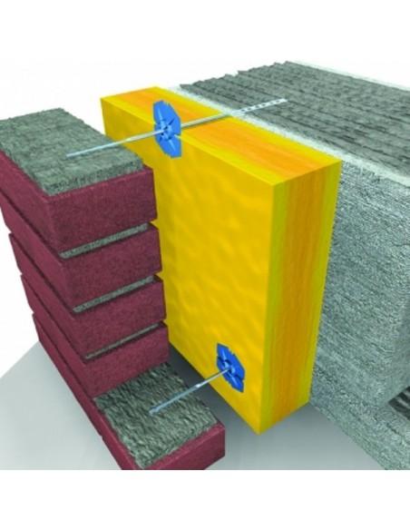 KOŁNIERZ dociskowy z wykraplaczem Koelner do kotew ISO-CLIP fi 60/3-6 mm (250 szt.)