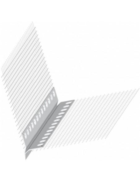 Kapinos, listwa okapnikowa PVC z taśmą dł. 200 cm