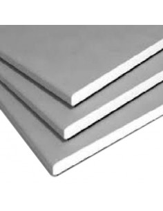 Gips Karton Teller NIDA gewöhnliche 12,5 mm (2, 6 x 1, 2)