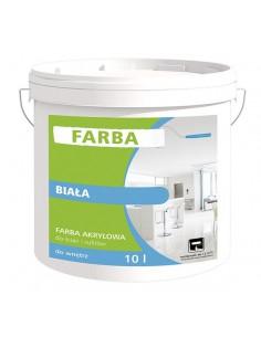 Acrylic paint WHITE Thermo-Organika