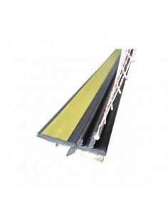 Listwa przyokienna PVC 3 mm z siatką 250 cm grafit