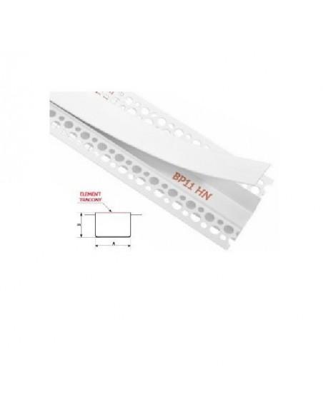 Bonie PVC zamknięte z elementem traconym 30 mm