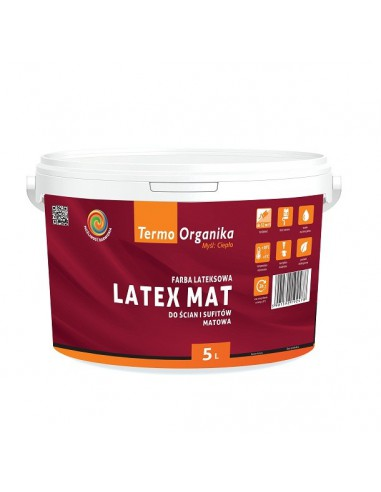 Latexová barva Termo byla dokončena LATEX MAT