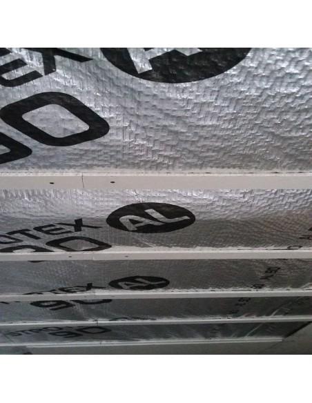 Folia paroizolacyjna aluminiowa STROTEX AL 90, 75m2