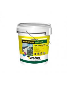 Tynk silikonowy Weber.pas premium 30 kg