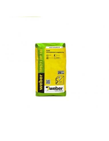 Tynk cementowo-wapienny Weber TD571 25 kg