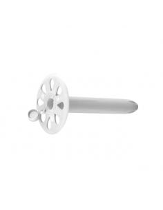 Talerzyki dociskowe RawlPlug KCX 55 mm z zaślepką