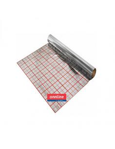 Folia aluminiowa Izorol, 52,5 m2