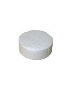 Zaślepki styropianowe białe 67 mm (200 szt.)