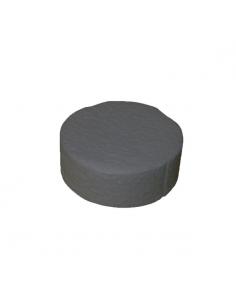 Zaślepki styropianowe grafitowe 67 mm (200 szt.)
