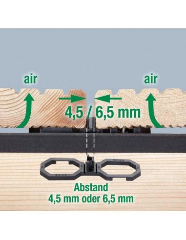 Podkładki Pod Deski Spax Air 65 Mm Op 40 Szt