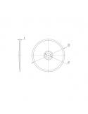 Talerzyki do wkrętów R-WBT RawlPlug POK 76 mm (100 szt.)